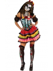 Day of The Dead Senorita - Halloween Costumes